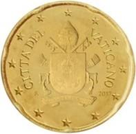Vatikaanstad 2019   20 Cent   Met De Afbeelding WAPENSCHILD !!  Zeer Zeldzaam - Extréme Rare !!!! - Vaticano