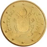 Vatikaanstad 2019   10 Cent   Met De Afbeelding WAPENSCHILD !!  Zeer Zeldzaam - Extréme Rare !!!! - Vatican