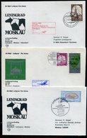 Flugpost / 6 Lufthansa-Erstflugbriefe (10887-40) - Lots & Kiloware (max. 999 Stück)