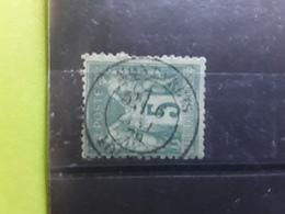 Type SAGE No 75, 5 C Vert Foncé Obl Cachet à Date Central De MONTARGIS, Loiret, 6 Janvier 1879 , TB - 1876-1898 Sage (Type II)