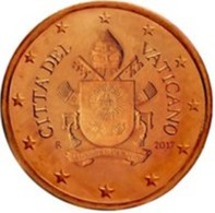 Vatikaanstad 2019   2 Cent   Met De Afbeelding WAPENSCHILD !!  Zeer Zeldzaam - Extréme Rare !!!! - Vatican