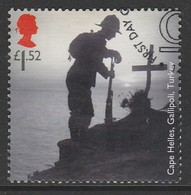 GB 2015 Centenary Of 1st World War £1.52 Multicoloured Sg:GB 3715 O Used - Used Stamps