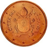 Vatikaanstad 2019   1 Cent   Met De Afbeelding WAPENSCHILD !!  Zeer Zeldzaam - Extréme Rare !!!! - Vatican