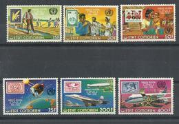COMORES YVERT 158/61, AEREO  110/11    MNH  ** - Comores (1975-...)