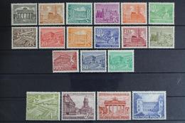 Berlin, MiNr. 42-60, Falz / Hinge - Unused Stamps