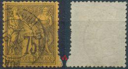 Frankreich, Mi.Nr. 82 Gestempelt, Allegorien, 75 Centimes, Zähnungsabart !!!!!!! - 1876-1898 Sage (Type II)
