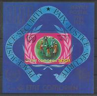 COMORES YVERT  H/B 3     MNH  ** - Comores (1975-...)