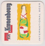 Sous Bock De Biere Commémoratif ; Brasserie Kronenbourg , INTERNATIONAL BEER - Sous-bocks