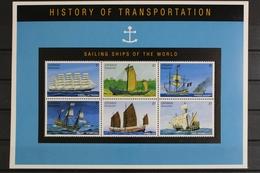 Grenada-Grenadinen, Schiffe, MiNr. 2189-2194, Kleinbogen, Postfrisch / MNH - Grenade (1974-...)