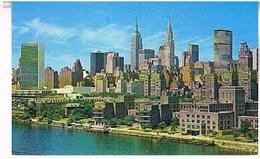 MIDTOWN  MANHATTAN  SKYLINE  NEW YORK  CITY     TBE  US 343 - Manhattan