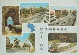 Kenia - Mombasa - Views - Cars - Nice Stamp - Kenia