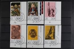 DDR, MiNr. 1607-1612, Ecken Rechts Unten, Gestempelt - [6] Democratic Republic