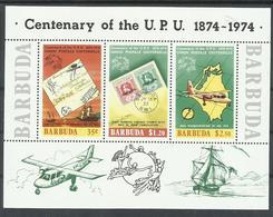 BARBUDA YVERT  H/B 10    MNH  ** - Antigua Y Barbuda (1981-...)