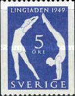 USED STAMPS Sweden - World Gymnastics Festival, Stockholm - I... -1949 - Suède