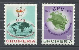 ALBANIA  YVERT  1533/34     MNH  ** - Albanie
