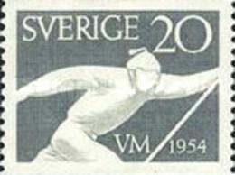 MH STAMPS Sweden - Nordic World Ski Championships  -1954 - Suède