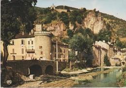Tour Et Pont De L'Horloge, à Meyrueis (48) - - Meyrueis