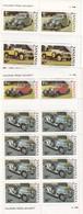 TANZANIE SERIE DE 4 VALEURS  THEME AUTOMOBILES - Tanzanie (1964-...)