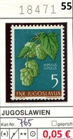 Jugoslawien - Yougoslavie - Jugoslavija - Michel 765 - * Mh Avec Charniere - Flora / Pflanzen / Blumen - Nuovi