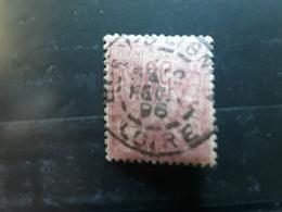 Type SAGE No 98, 50 C Rose Obl Cachet à Date Central De BOEN SUR LIGNON,  Loire  ,12 Fevrier  1896 , TB - 1876-1898 Sage (Type II)