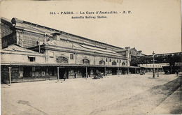 75 PARIS GARE AUSTERLITZ 341 - Metro, Estaciones