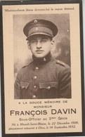 Soldat Belge ... François Davin , Sous-Officier Au 3me Génie - Oorlog 1939-45