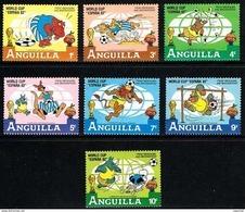 Anguilla ** Disney 1982 Futbol - Disney