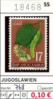 Jugoslawien - Yougoslavie - Jugoslavija - Michel 768 - * Mh Avec Charniere - Flora / Pflanzen / Blumen - Nuovi