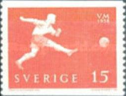 USED STAMPS Sweden - Football World Cup - Sweden  -1958 - Suède