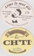 Sous Bock De Biere Commémoratif  ; Brasserie Du CH'TI 1996 - Sous-bocks