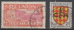REUNION  __N°  68  Et  309__ OBL VOIR SCAN - Réunion (1852-1975)