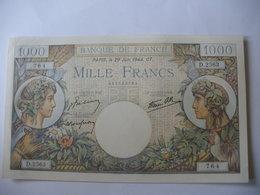 BILLET 1000 F COMMERCE   29/06/1944 FAY 39/9 - 1871-1952 Antiguos Francos Circulantes En El XX Siglo