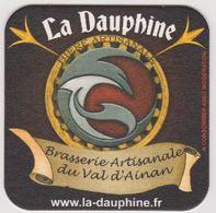 Sous Bock De Biere ; Brasserie La Dauphine 38 - Sous-bocks