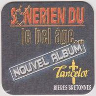 Sous Bock De Biere Commémoratif  ; Brasserie Lancelot Bieres Bretonnes - Sous-bocks