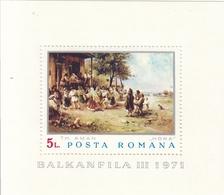 ROMANIA 2937,unused - Blocks & Sheetlets