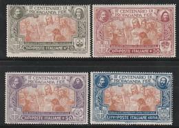 ITALIE - N°124/7 ** (1923) Tricentenaire De La Congrégation De La Propagation De La Foi. - 1900-44 Victor Emmanuel III