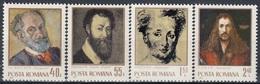 ROMANIA 2979-2982,unused - Art