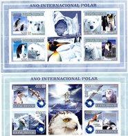 GUINEE BISSAU 2007 / Superbe 4 Blocs Dentelés MNH Année Polaire Internationale - Année Polaire Internationale