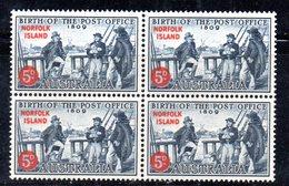 QUS - NORFOLK 1959 , Serie N. 23 In Fresche Quartine Integre ***  MNH . (2380A) - Isola Norfolk