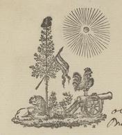 Héraldique  Ste Marie Aux Mines An 11 -11.12.1802 Mines De Charbon De Terre De St.Hypolite Et De Rodern - Documentos Históricos
