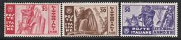 ITALIE - N°357/9 ** (1935) Journée De La Culture Et Des Arts - 1900-44 Victor Emmanuel III