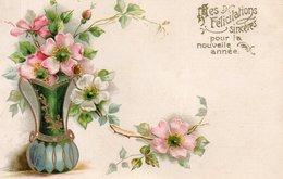 FLEURS (gaufrée) - Fleurs