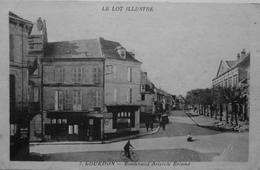 Boulevard Aristide Briand - Gourdon