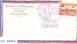REPUBLIKA DOMINICANA AIR MAIL 1952 - Dominicaine (République)