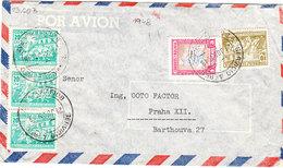 BOLIVIA COVER AIR MAIL 1948 - Bolivie