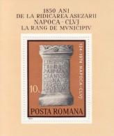 ROMANIA 3191,unused - Blocks & Sheetlets