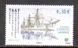 TAAF - 2011 - Navire : Croiseur à Barbettes Lapérouse ** - Neufs