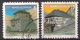 Mazedonien  (1996)  Mi.Nr.  87 + 88  Gest. / Used  (3ai29) - Mazedonien