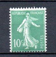 France Beau  N° 188 ** . A Saisir !!! - 1906-38 Semeuse Camée
