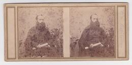 Stereoscopische Kaart.    Le Reverend Oère De Batisbonne - Cartes Stéréoscopiques